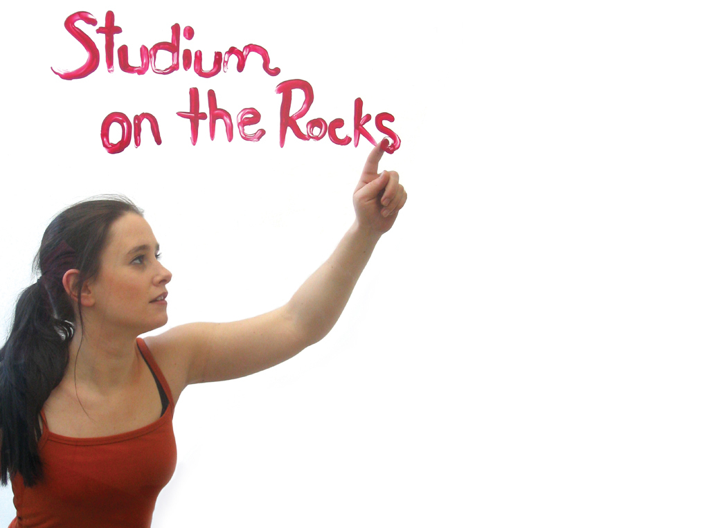 "Studierende schreibt ""Studium on the Rocks"""